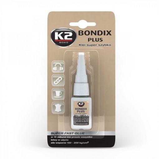 K2 BONDIX PLUS 10g pillanatragasztó