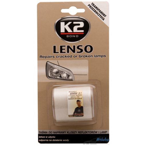K2 LENSO - Lámpabúra javító szalag - fehér