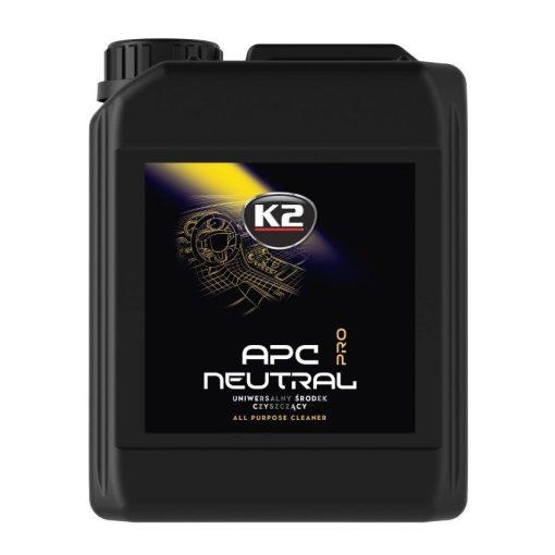 K2 APC NEUTRAL PRO 5l - semleges pH értékű univerzális tisztítószer