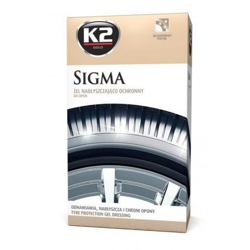 K2 SIGMA 500 ml - fényes gumiápoló gél