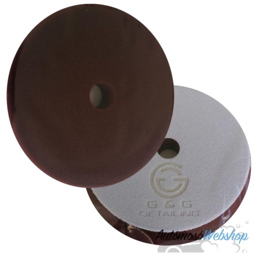 G&G Detailing Szivacs korong 150 mm (Medium) Burgundy