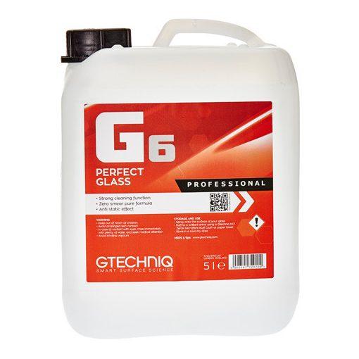 GTECHNIQ G6 Antisztatikus Üvegtisztító - 5000ml