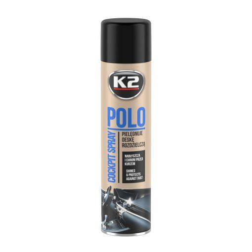 K2 COCKPITMAX 750ml ÚJ AUTÓ műszerfal ápoló spray