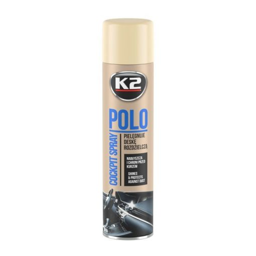 K2 COCKPITMAX 750ml VANILIA műszerfal ápoló spray