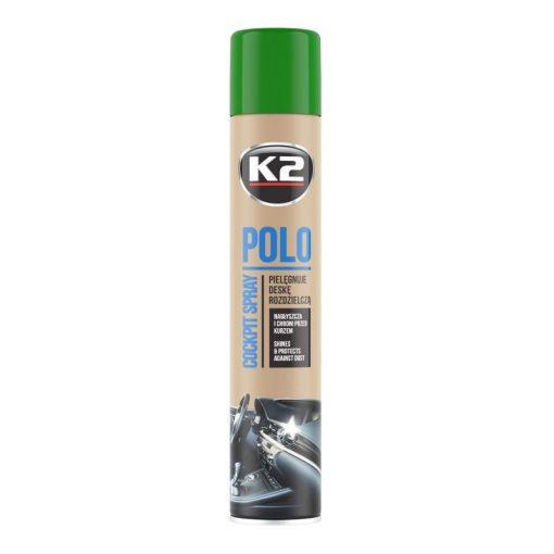 K2 COCKPITMAX 750ml ZÖLDALMA műszerfal ápoló spray