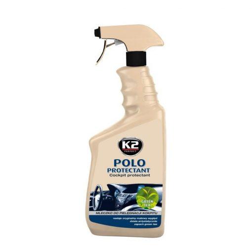K2 POLO PROTECTANT 770ml - műszerfalápoló zöldtea illat