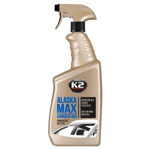 K2 ALASKA MAX 700ml szélvédő jégmentesítő