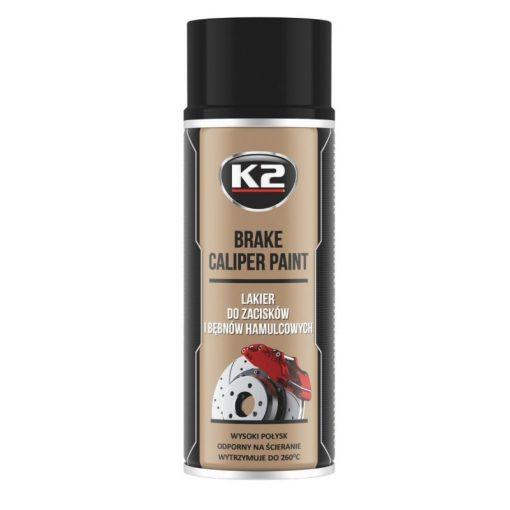 K2 BRAKE CALIPER paint 400ml - fekete féknyereg festék