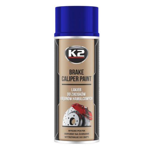 K2 BRAKE CALIPER paint 400ml - kék féknyereg festék
