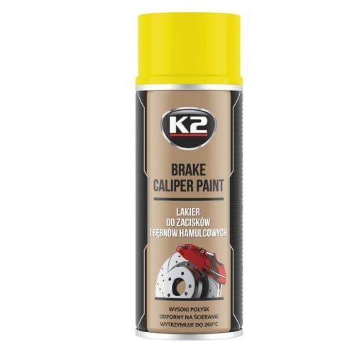 K2 BRAKE CALIPER paint 400ml - sárga féknyereg festék