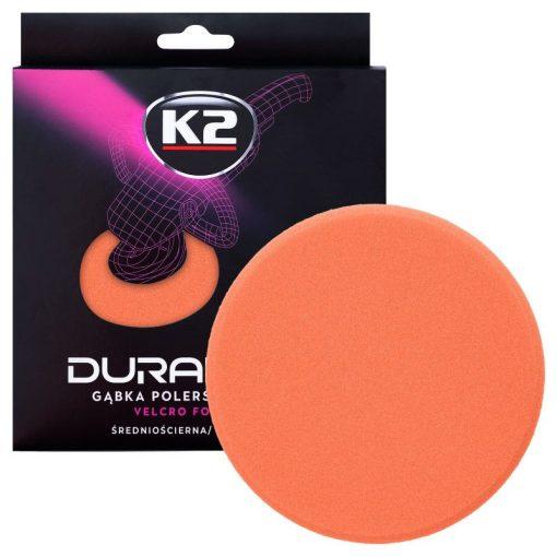 K2PRO DURAFLEX tépőzáras polírkorong - narancs