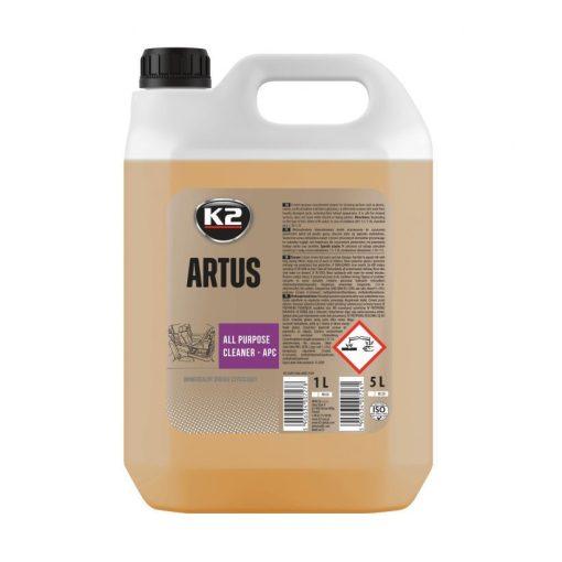 K2PRO ARTUS 5l műanyagtisztító