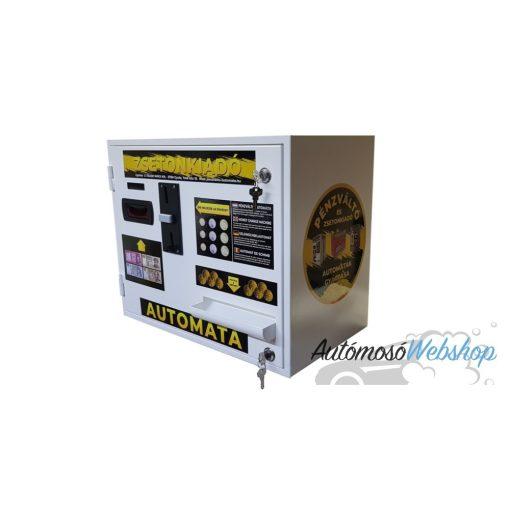 NTC-COZS1200  Falra szerelhető zsetonkiadó automata, érmevizsgálóval kiegészítve