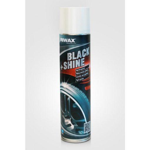 RIWAX Black&Shine gumifeketítő spray 400 ml.