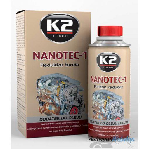 K2 NANOTEC-1 250ml - súrlódáscsökkentő