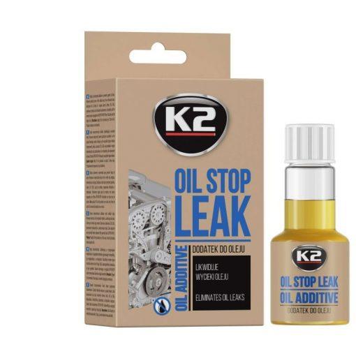 K2 STOP LEAK OIL 50ml - olajszivárgás gátló