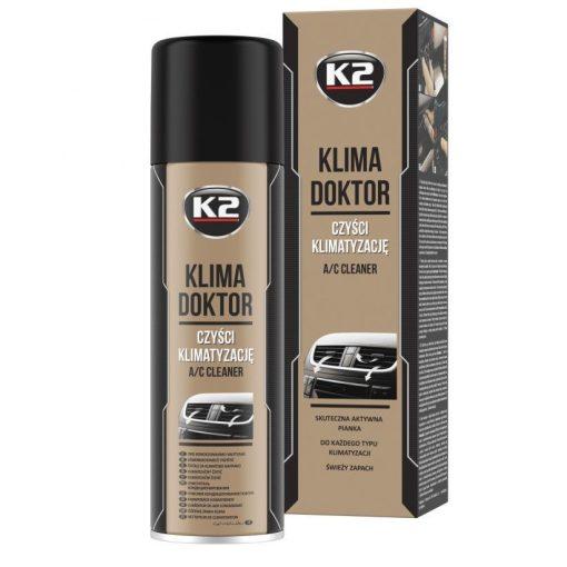 K2 KLIMA DOKTOR 500ml klímatisztító hab